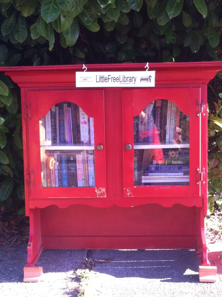 Build A Little Free Library For Your Front Yard The Platypus Directive