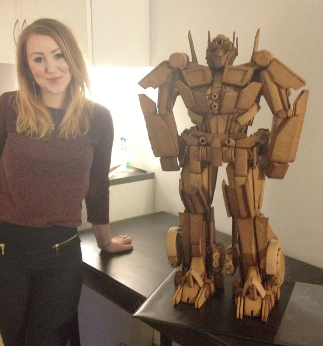 gingerbread-optimus-prime