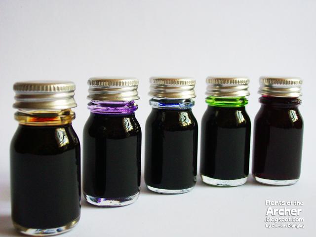 03 Ink Bottles
