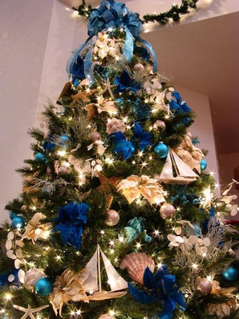So, Maybe Not. Christmas Tree Decorating Ideas Ribbon 2015 Hgejnznz